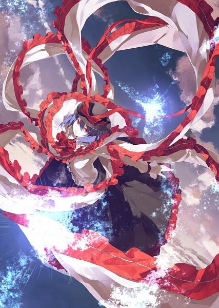 Tags: Anime, Shihou (g-o-s), Touhou, Nagae Iku, Mobile Wallpaper, Fanart, Pixiv, Iku Nagae