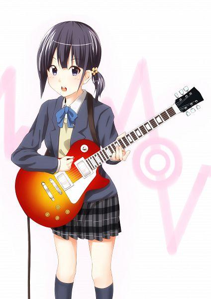 Tags: Anime, Dacchi (Artist), Kokoro Connect, Nagase Iori, Playing Guitar