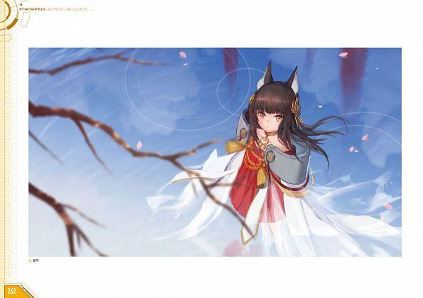 Tags: Anime, Yostar, Azur Lane - First Anniversary Art Collection, Azur Lane, Nagato (Azur Lane), Artist Request, Official Art
