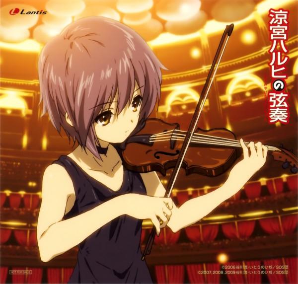 Tags: Anime, Kyoto Animation, Suzumiya Haruhi no Yuuutsu, Nagato Yuki, Official Art