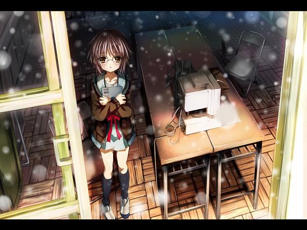 Tags: Anime, Shino (Eefy), Suzumiya Haruhi no Yuuutsu, Nagato Yuki