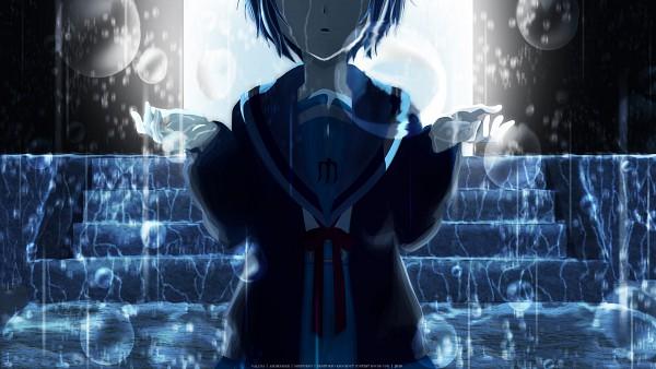 Tags: Anime, Suzumiya Haruhi no Yuuutsu, Nagato Yuki, Fanmade Wallpaper, Edited, Wallpaper, HD Wallpaper, Facebook Cover