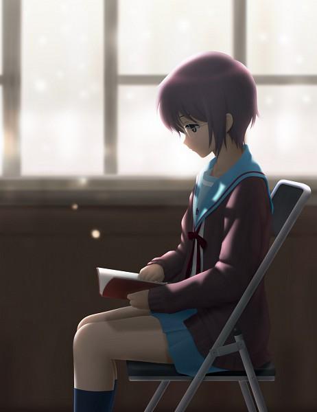 Tags: Anime, Siraha, Suzumiya Haruhi no Yuuutsu, Nagato Yuki