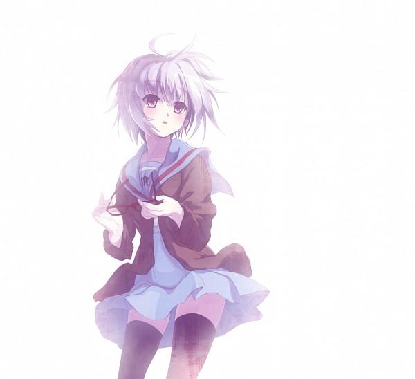 Tags: Anime, Kyokucho, Suzumiya Haruhi no Yuuutsu, Nagato Yuki, Fog