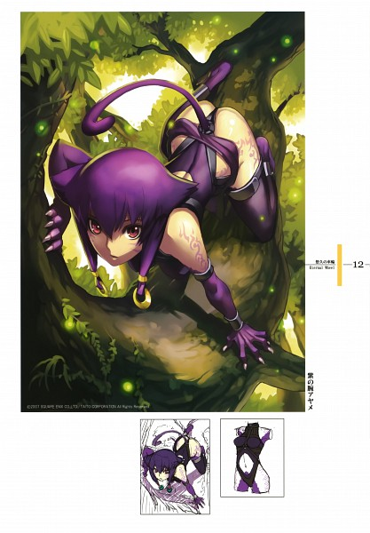 Tags: Anime, Nagi Ryou, Original, Sketch, Scan, Pixiv