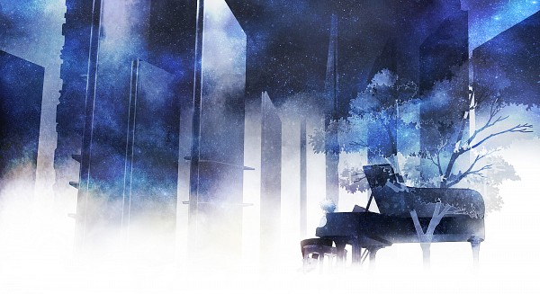 Tags: Anime, Nami / ナミ, Neon Genesis Evangelion, Nagisa Kaworu, Pixiv, Facebook Cover, Revision, Fanart From Pixiv, Fanart