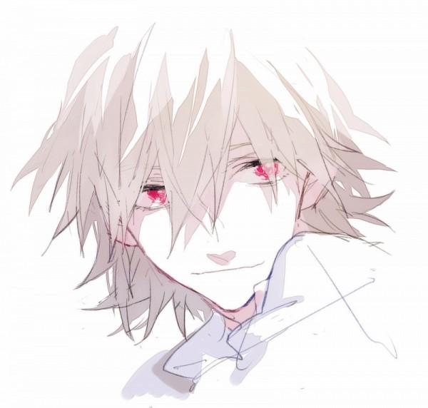 Tags: Anime, Mayer, Neon Genesis Evangelion, Nagisa Kaworu, Fanart From Pixiv, PNG Conversion, Fanart, Pixiv, Sketch