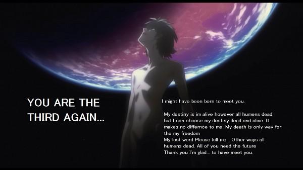 Tags: Anime, Neon Genesis Evangelion, Nagisa Kaworu, Screenshot, Wallpaper