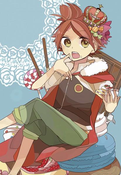 Tags: Anime, Pixiv Id 1336349, Inazuma Eleven, Nagumo Haruya, King, Strawberry Shortcake