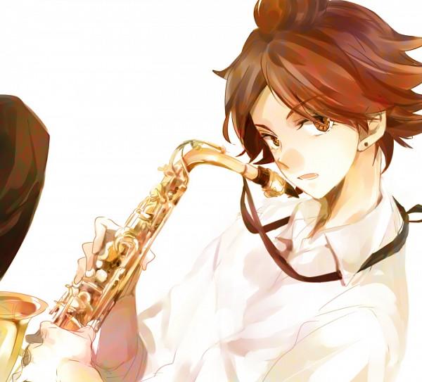 Tags: Anime, Nini (iskha), Inazuma Eleven, Nagumo Haruya, Saxophone