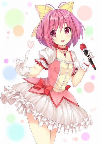 Tags: Anime, Pixiv Id 3628841, Kami nomi zo Shiru Sekai, Nakagawa Kanon, Kaname Madoka (Cosplay), Mobile Wallpaper