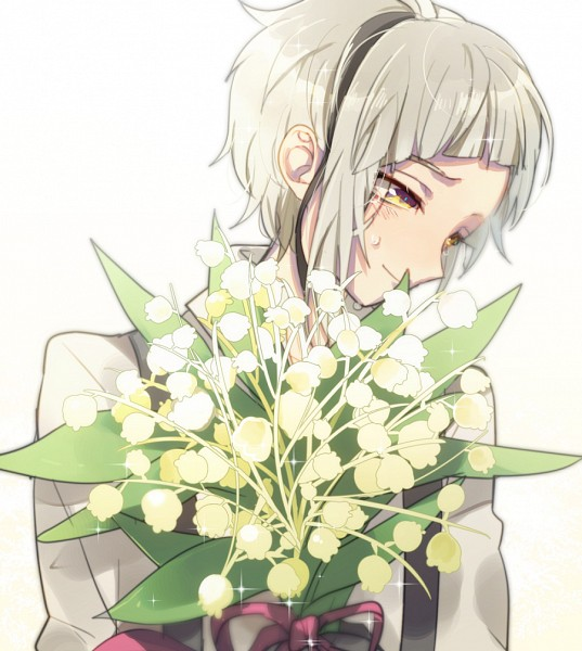Tags: Anime, Pixiv Id 2765210, Bungou Stray Dogs, Nakajima Atsushi (Bungou Stray Dogs), Lily Of The Valley, Fanart From Pixiv, Pixiv, Fanart