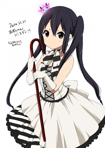 Tags: Anime, Ragho no Erika, K-ON!, Nakano Azusa, Mobile Wallpaper