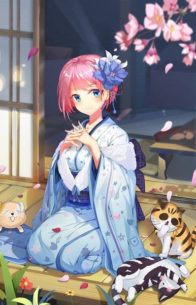 Tags: Anime, Pixiv Id 13146300, Go-Toubun no Hanayome, Nakano Ichika, Fanart From Pixiv, Pixiv, Fanart