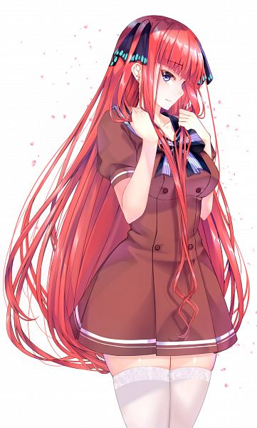 Tags: Anime, Pixiv Id 163404, Go-Toubun no Hanayome, Nakano Nino, Fanart, Fanart From Pixiv, Pixiv