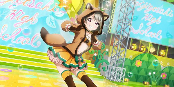 Tags: Anime, KLab, Love Live! School Idol Festival ALL STARS, Nakasu Kasumi, Official Card Illustration, Official Art