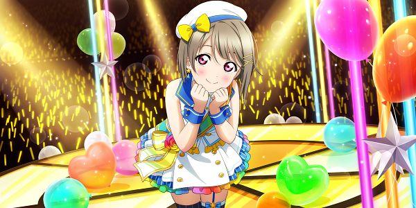 Tags: Anime, KLab, Love Live! Nijigasaki Gakuen School Idol Doukoukai, Love Live! School Idol Festival ALL STARS, Nakasu Kasumi, Official Card Illustration, Official Art