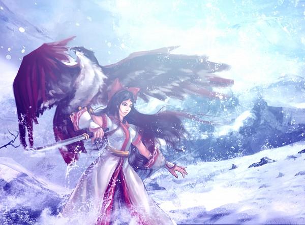 Tags: Anime, Pixiv Id 1445639, Samurai Spirits, Nakoruru, Ainu Clothes, Fanart, Fanart From Pixiv, Pixiv
