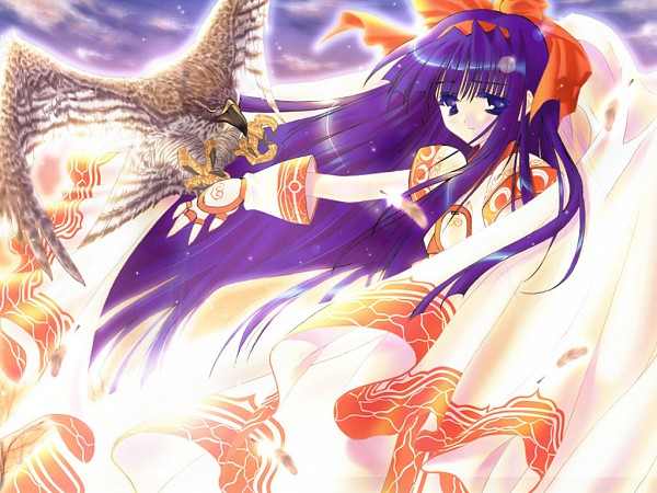 Tags: Anime, CARNELIAN, Samurai Spirits, Nakoruru, Ainu Clothes, Pixiv, Wallpaper