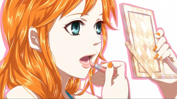 Tags: Anime, Komomo (Pixiv4548886), ONE PIECE, Nami (ONE PIECE), High School Girls (Parody), Wallpaper, One Piece: Two Years Later, Fanart, Facebook Cover, Pixiv, Fanart From Pixiv