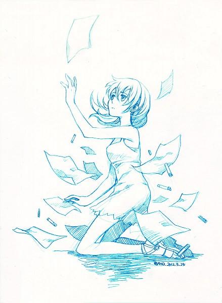 Tags: Anime, 77 (Artist), Kingdom Hearts II, Naminé