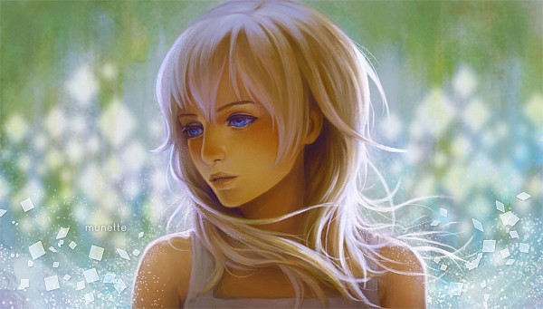 Tags: Anime, Munette, Kingdom Hearts: Chain of Memories, Kingdom Hearts, Naminé, deviantART, Facebook Cover, Fanart From DeviantART, Disney, Fanart