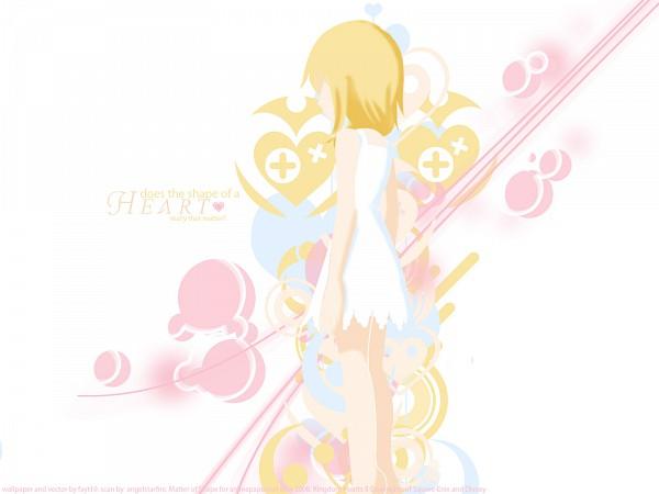 Tags: Anime, Kingdom Hearts II, Kingdom Hearts, Naminé, Wallpaper