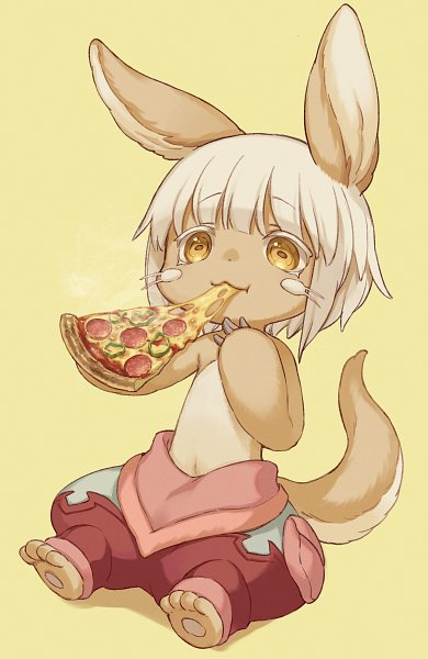 Tags: Anime, Momora, Made in Abyss, Nanachi (Made in Abyss), Puffy Shorts, Fanart, Fanart From Pixiv, Mobile Wallpaper, Pixiv