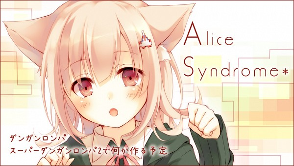 Tags: Anime, Toosaka Asagi, Super Danganronpa 2, Nanami Chiaki, Fanart From Pixiv, Facebook Cover, Pixiv, Fanart