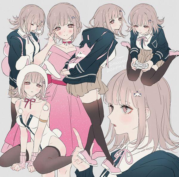 Tags: Anime, You (Roka), Super Danganronpa 2, Nanami Chiaki, Pixiv, Fanart, Fanart From Pixiv