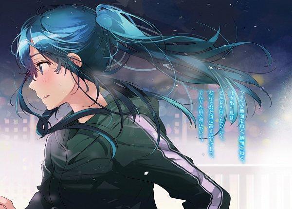 Tags: Anime, Flyco_, Jaku Chara Tomozaki-kun, Nanami Minami (Jaku Chara Tomozaki-kun), Novel Illustration, Official Art