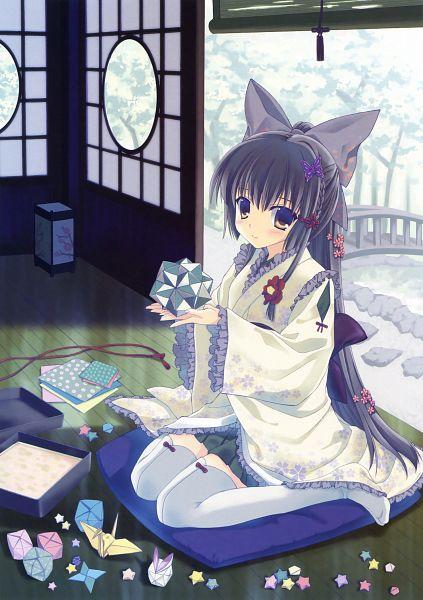 Tags: Anime, Nanao Naru, Eshi 100-nin Ten 04, Scan