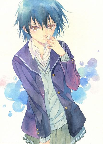 Tags: Anime, Agahari, Amagami, Nanasaki Ai, Fanart From Pixiv, Pixiv, Fanart, Mobile Wallpaper, Traditional Media