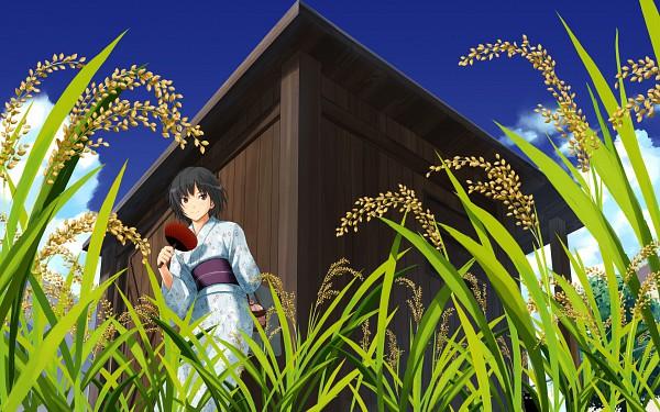 Tags: Anime, Takayama Kisai, Amagami, Nanasaki Ai, Wallpaper, Official Art