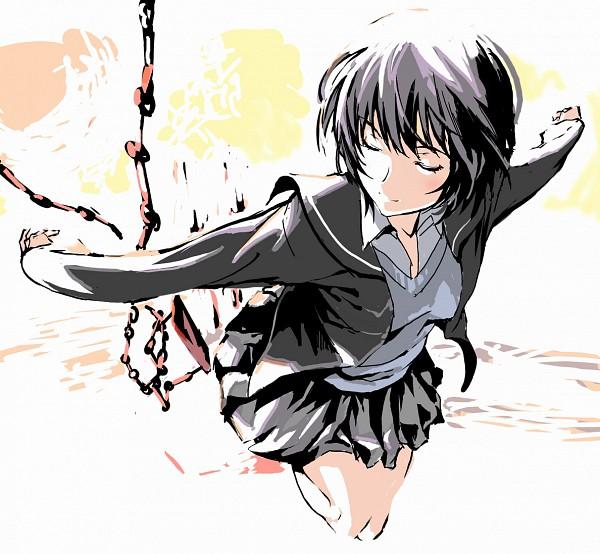 Tags: Anime, Shino (Comic Penguin Club), Amagami, Nanasaki Ai, Swing, Pixiv