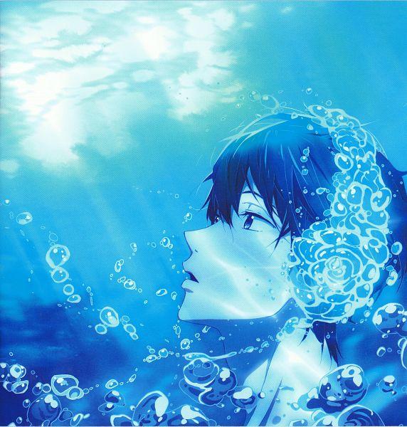 Tags: Anime, Nishiya Futoshi, Kyoto Animation, Free!, Nanase Haruka (Free!), Official Art, Scan