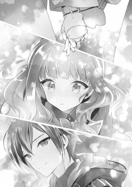 Tags: Anime, Miyuki Ruria, Nanatsu no Maken ga Shihai Suru, Katie Aalto, Oliver Horn, Novel Illustration, Official Art