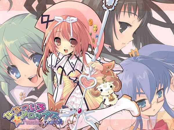 Tags: Anime, UNiSONSHIFT, Nanatsuiro Drops, Yaeno Nadeshiko, Prima Pramu, Akihime Sumomo, Satsuki Julirsia, Yuki-chan, Yuuki Nona