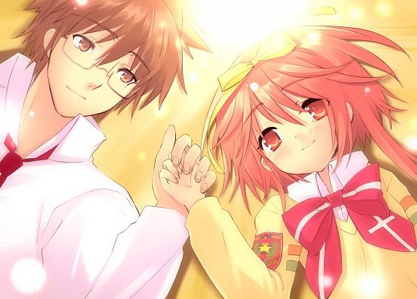 Tags: Anime, Ito Noizi, Nanatsuiro Drops, Tsuwabuki Masaharu, Akihime Sumomo, Grabbing Hand