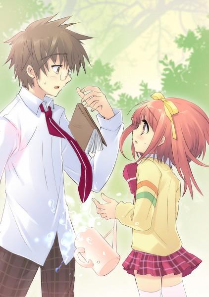 Tags: Anime, Ito Noizi, Nanatsuiro Drops, Akihime Sumomo, Tsuwabuki Masaharu