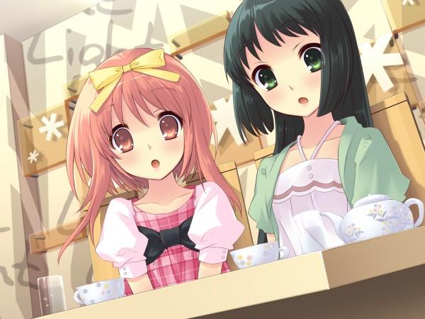 Tags: Anime, Ito Noizi, Nanatsuiro Drops, Yaeno Nadeshiko, Akihime Sumomo, CG Art