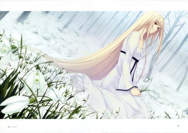 Tags: Anime, Sugina Miki, Innocent Grey, Nuregarasu, Caucasus, Nanatsuki Shion, Snowdrop