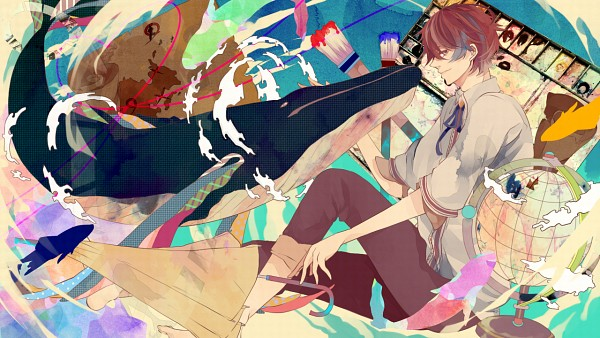 Tags: Anime, Wata14, Nano (Nico Nico Singer), Nico Nico Singer, Wallpaper, Facebook Cover