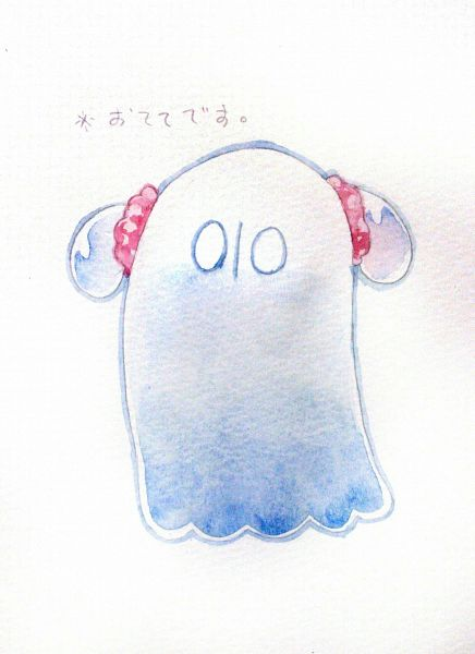 Tags: Anime, Pixiv Id 5060362, Undertale, Napstablook, Pixiv, Fanart, Fanart From Pixiv