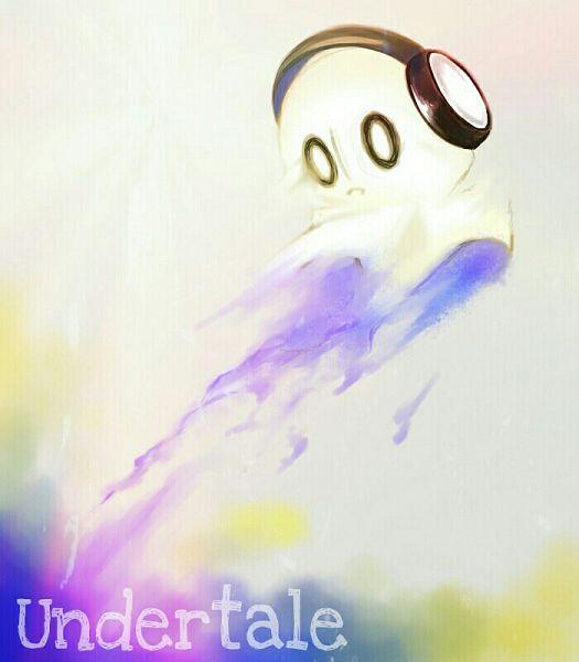 Tags: Anime, Pixiv Id 12293386, Undertale, Napstablook, Fanart From Pixiv, Pixiv, Fanart