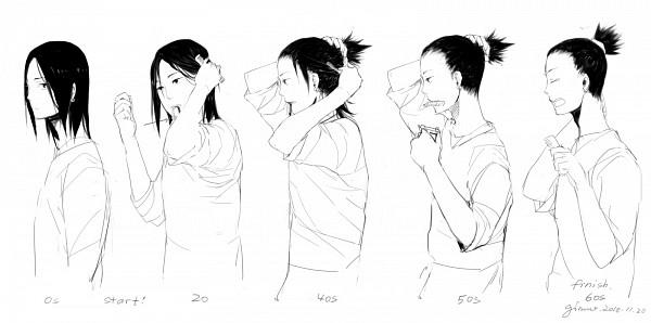 Tags: Anime, Ginmu, NARUTO, Nara Shikamaru, Pixiv, Facebook Cover, Fanart