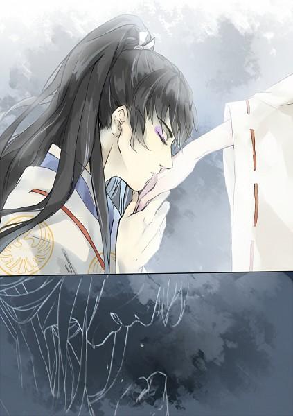 Tags: Anime, Pixiv Id 2180736, InuYasha, Naraku, Kikyo (InuYasha), Mobile Wallpaper