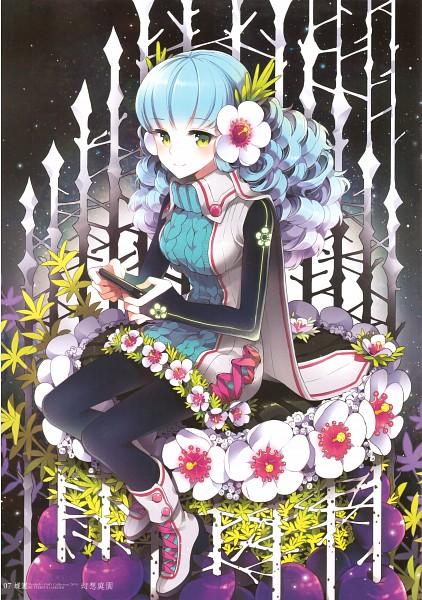 Tags: Anime, Nardack, Nardack artworks 2008-2010, Butterfly Garden, Scan, Mobile Wallpaper