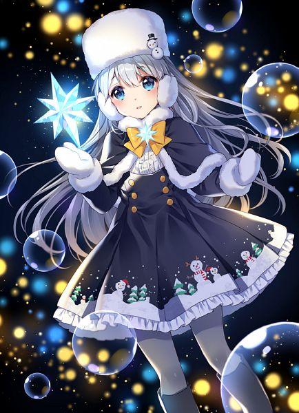 Tags: Anime, Nardack, Gochuumon wa Usagi Desu ka, Kafuu Chino, PNG Conversion, Mobile Wallpaper