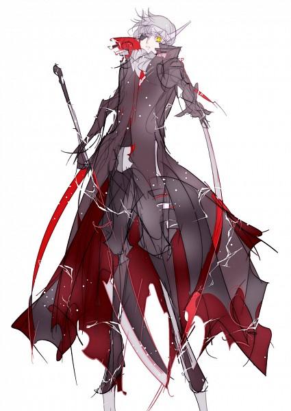Tags: Anime, Kotobuki Sakura, Shin Megami Tensei: PERSONA 4, Narukami Yu, Sketch, Fanart From Pixiv, Fanart, Pixiv, Mobile Wallpaper